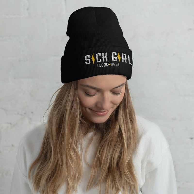 Image of SICK GIRL-Live Sick Die ill beanie