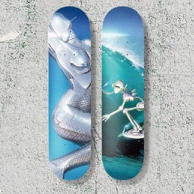 Image of SORAYAMA skate Board Set - last One in Stock