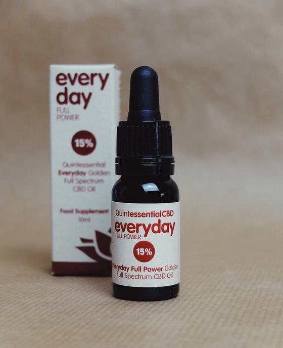 Image of Everyday Full Power 15% Full Spectrum CBD Oil