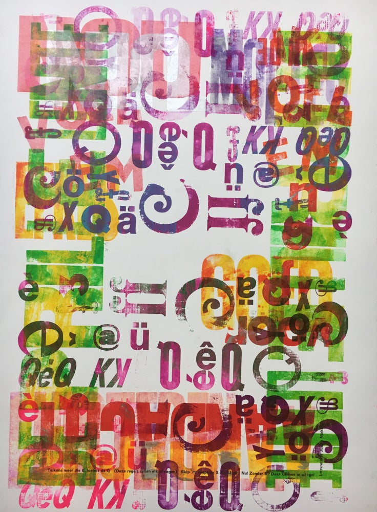 Image of One-off Typo Poster #1-024