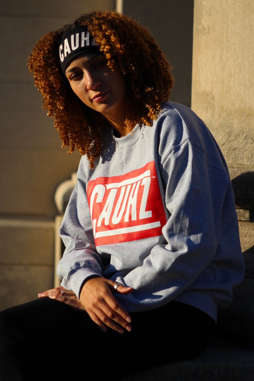 Cauhz™ (Heather Grey) Crewneck Sweatshirt