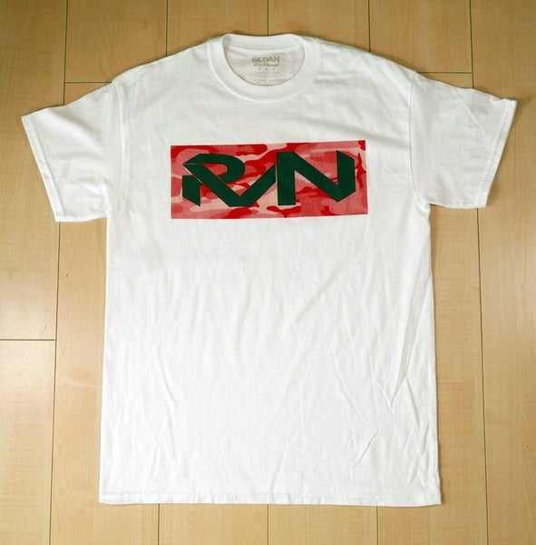 Image of Tonal Red Camo/Gray RVN Logo Tee