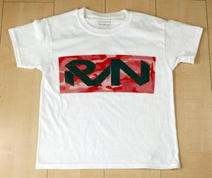 Image of Tonal Red Camo/Gray RVN Logo Tee