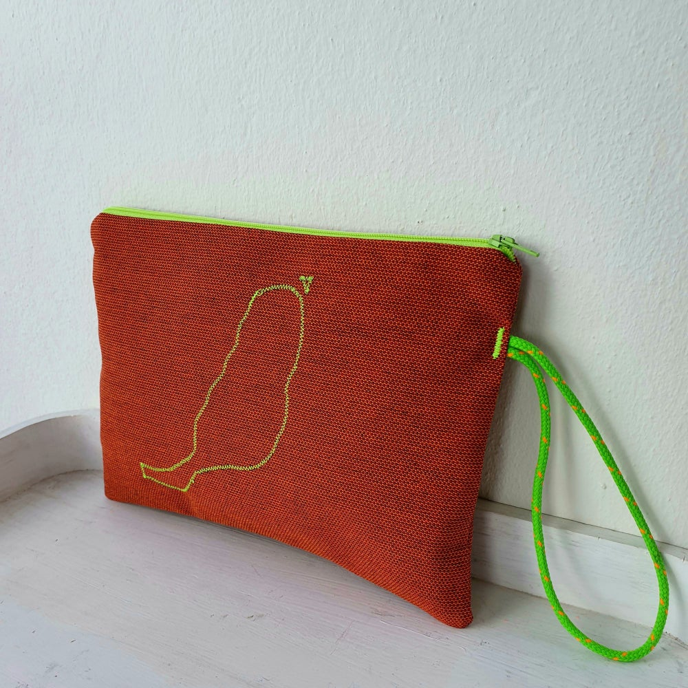 Image of Wristlet Bag Fuerteventura Rusty
