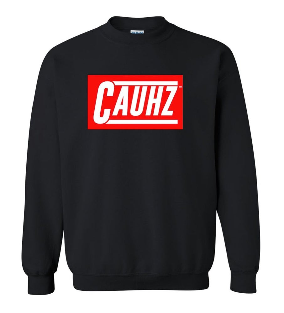 Image of Cauhz™ (Black) Crewneck Sweatshirt