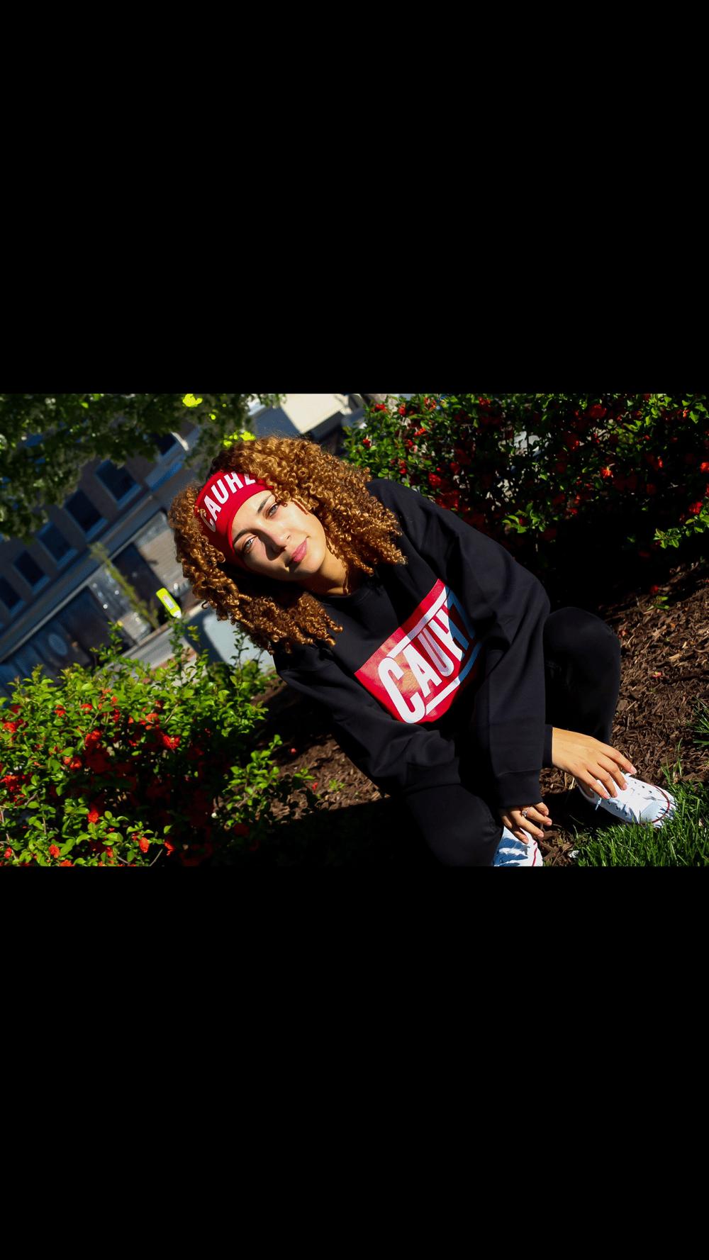 Cauhz™ (Black) Crewneck Sweatshirt