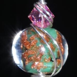 Image of Ruby in Fuchsite Handmade Pendant