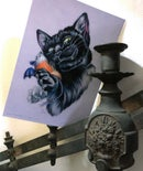 "Image 2 of ""Bat Eared Gremlin"" Giclee Print"