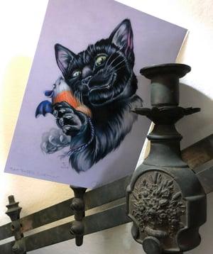 "Image of ""Bat Eared Gremlin"" Giclee Print"