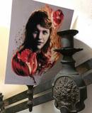 "Image 3 of ""Sylvia Plath"" Giclee Print"