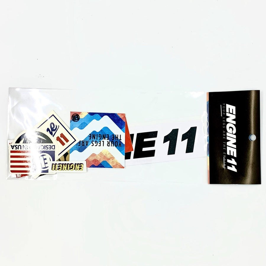 Image of Engine11 sticker pack
