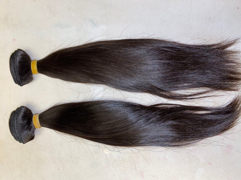 Image of Mink Burmese Straight Frontal w/2 bundle deal