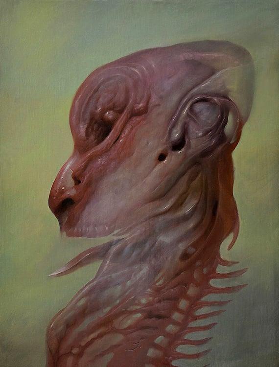 Image of Dos Diablos 'The Iconoclast' original art