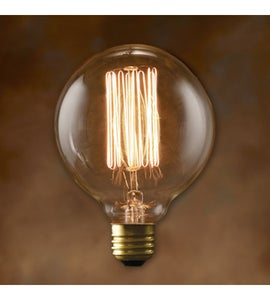 Image of G30 squirrel filament bulb
