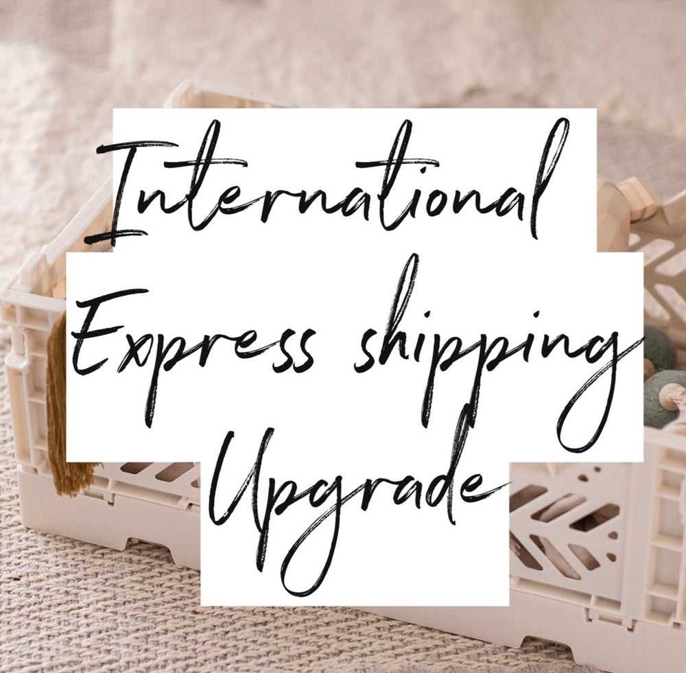 Image of International express shipping upgrade
