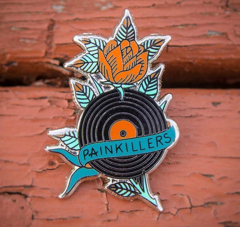 Image of Painkillers pin