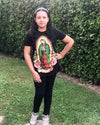 Virgencita-Flores ~Adult & Teen T-Shirt