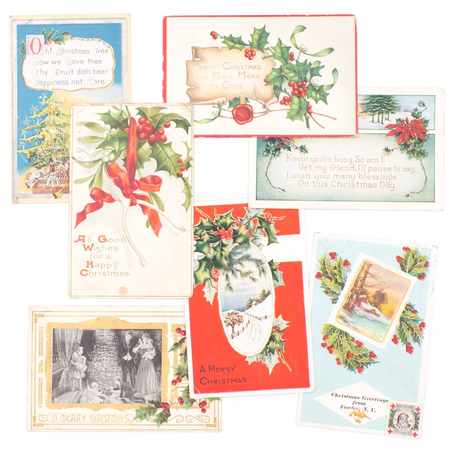 Image of Christmas Postcards - Set of 7
