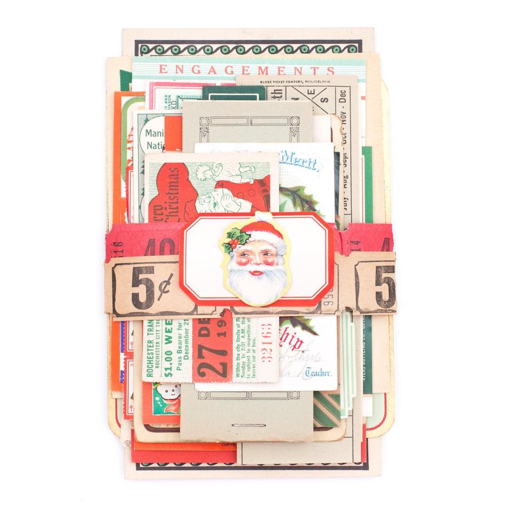 Image of Christmas Ephemera Bundle