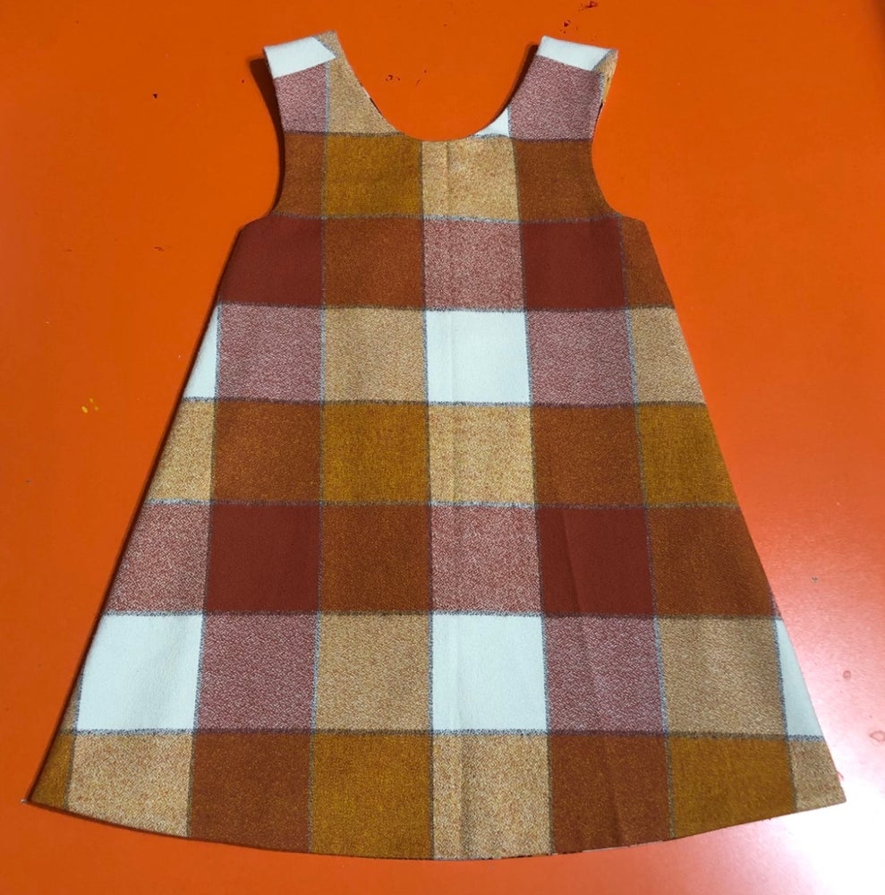 Image of 3T Owl Reversible Pinafore
