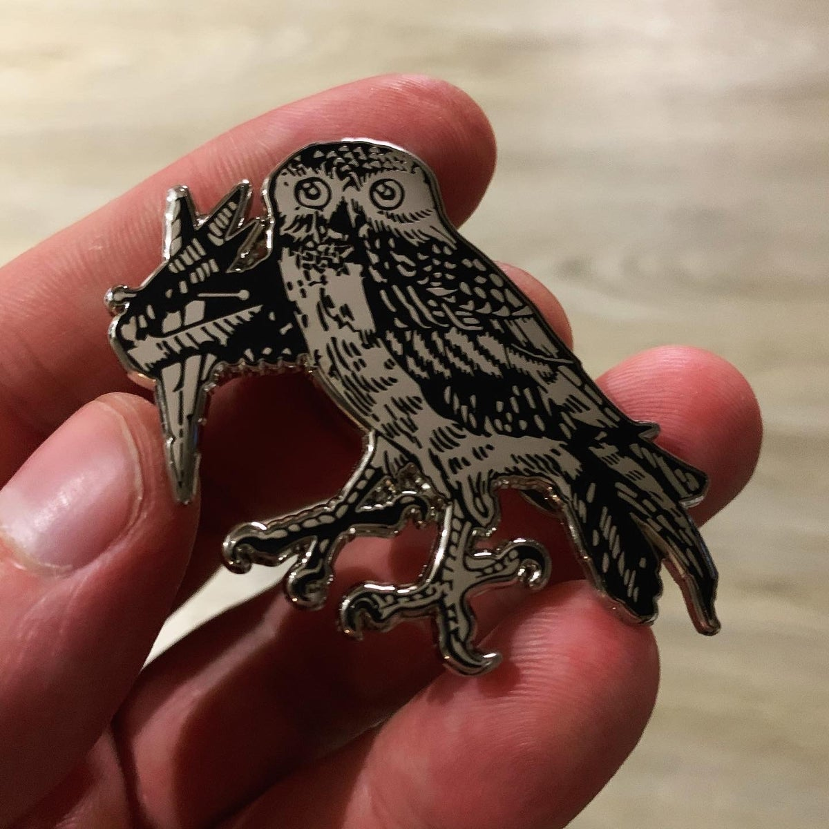 Image of MURDER OWL - Sin Eater *Pin*