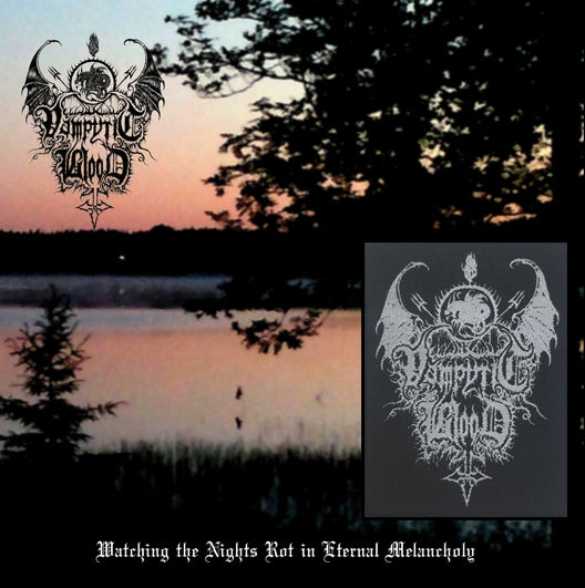 "Image of Special edition: Vampyric Blood - ""Watching the Nights Rot in Eternal Melancholy"" CD"