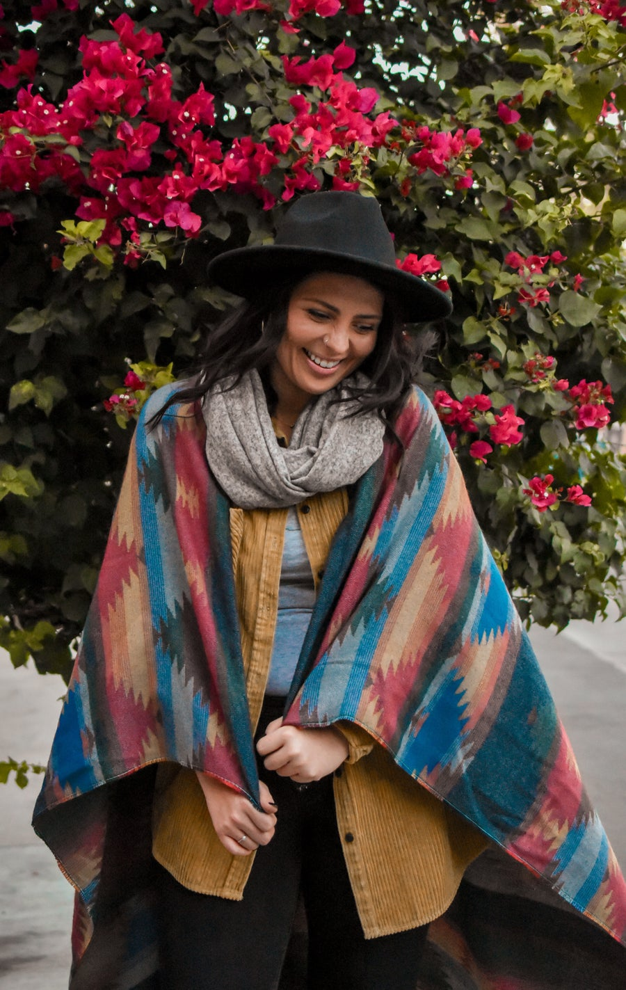 Image of Colors of the Wind Throw Blanket
