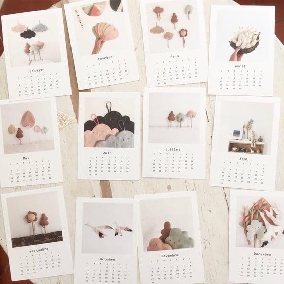 Image of cocon calendar 2020! pre-order