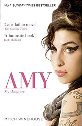 Image of Amy My Daughter - signed by Mitch Winehouse - only 5 left! Paperback edition