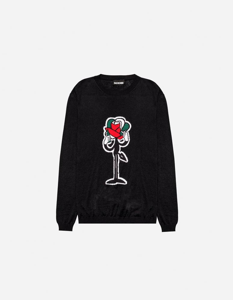 Image of Pas De Mer - Rose sweater