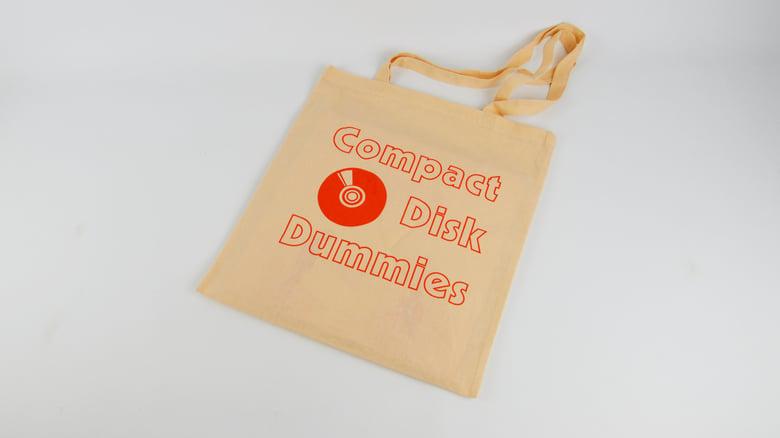 Image of Salmon Logo tote bag