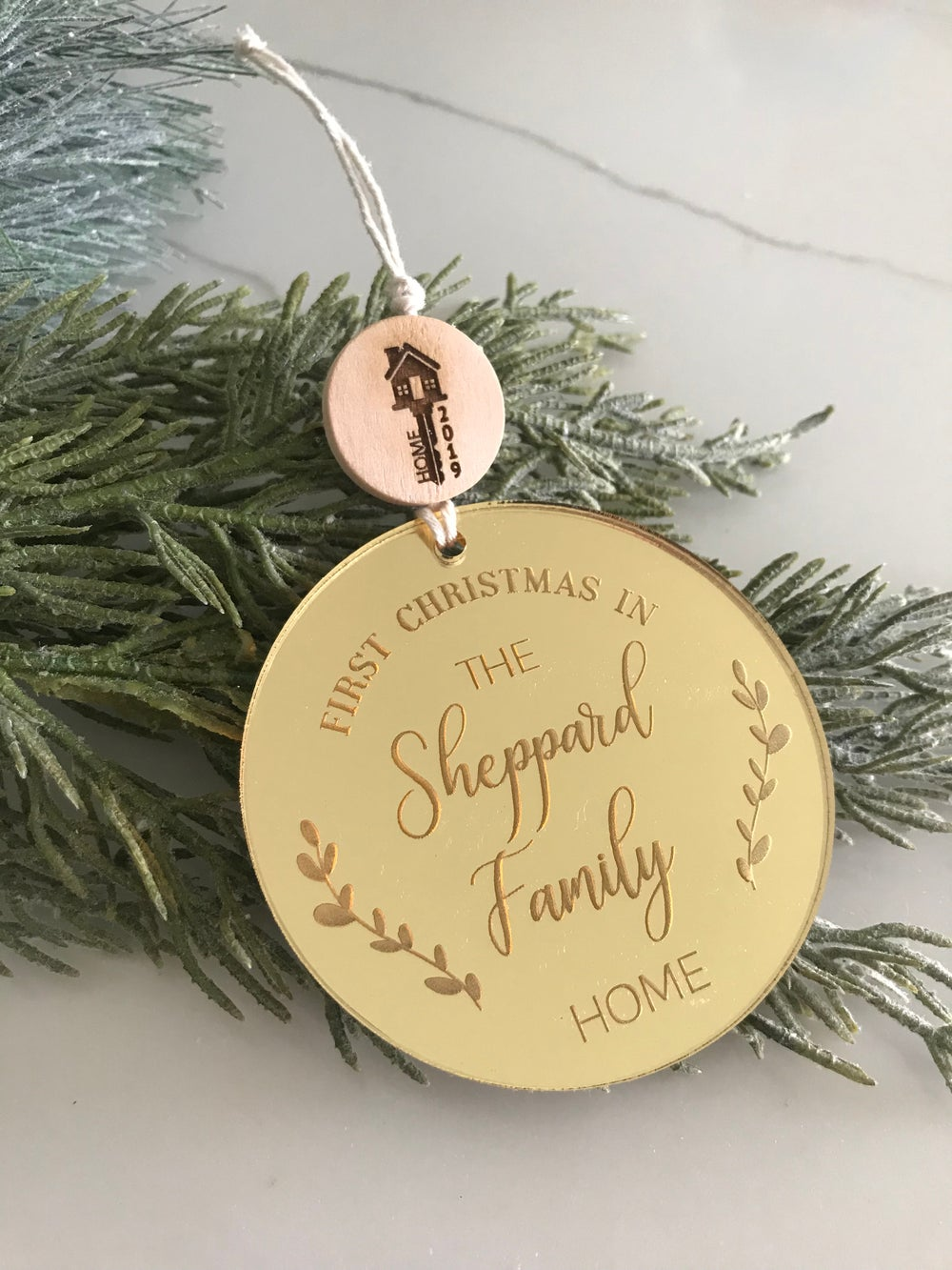 Image of First Home Christmas Ornament