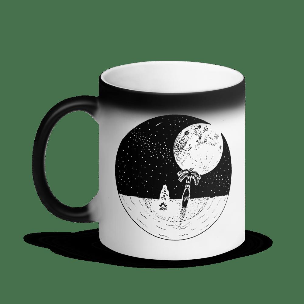 Image of Full Moon and My Surfboard Magic Mug