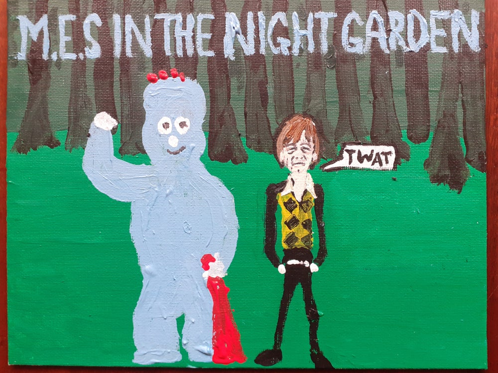 Image of Mark E Smith In The Night Garden