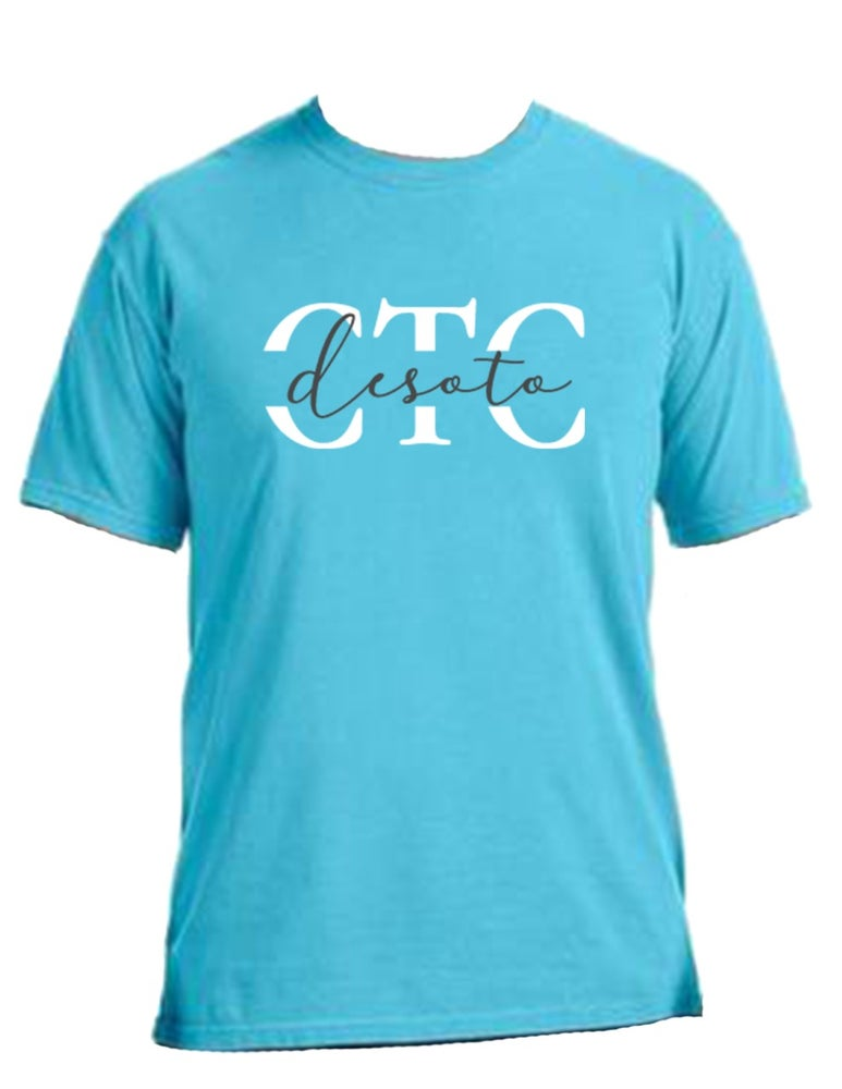 Image of CTC Desoto Comfort Colors Shirt - WEST CAMPUS PICKUP