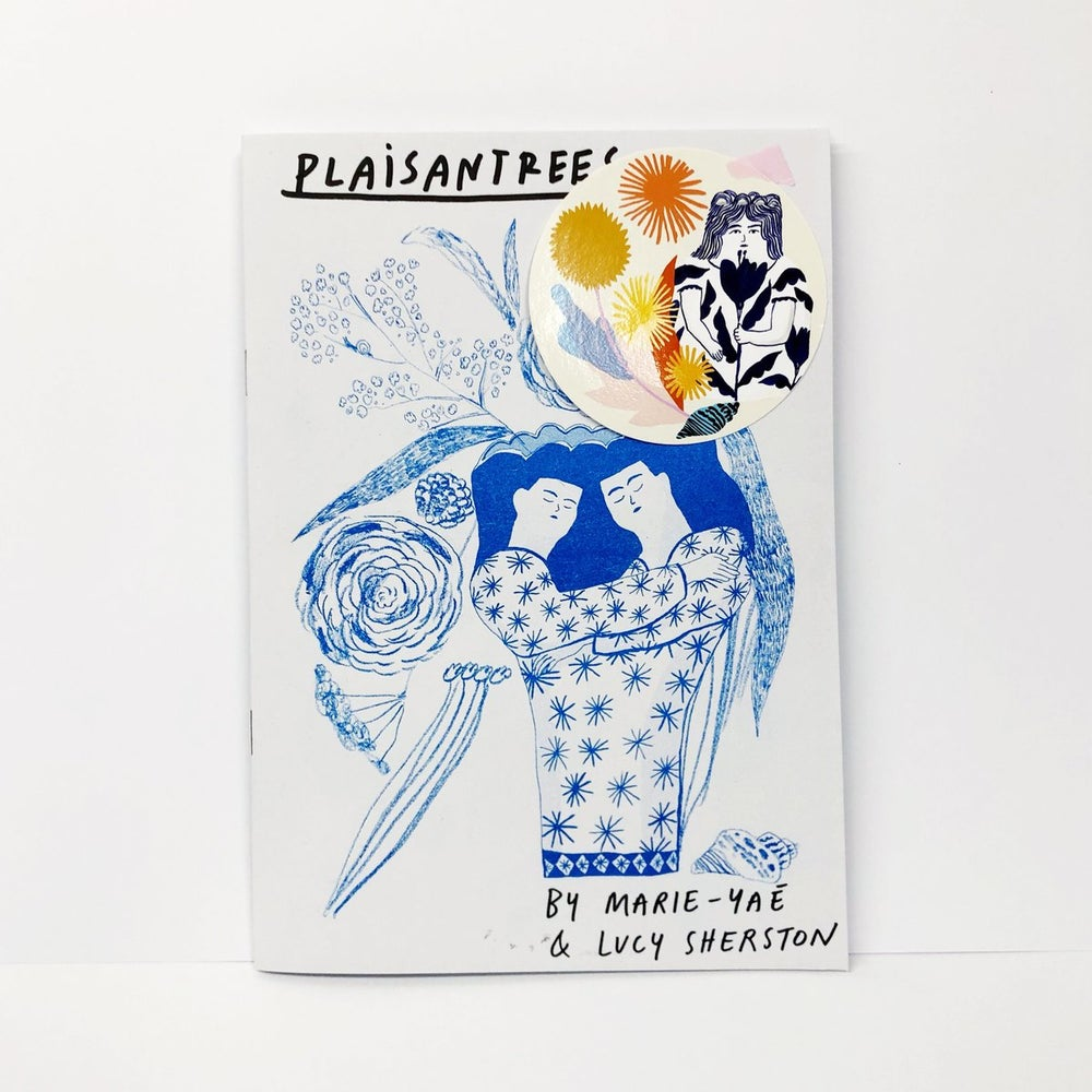 Image of Plaisantrees Zine with Marie-Yaé