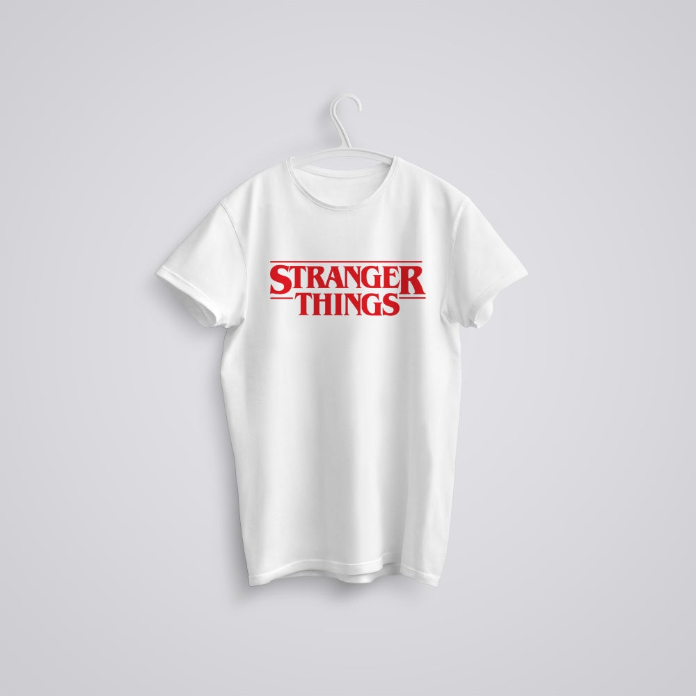 Image of Stranger Things Logo T-Shirt