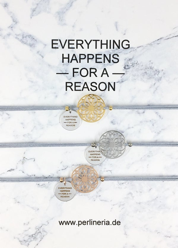 Image of EVERYTHING HAPPENS Armband MANDALA