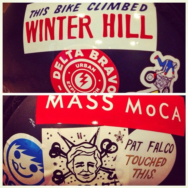 Image of This Bike Climbed Winter Hill sticker