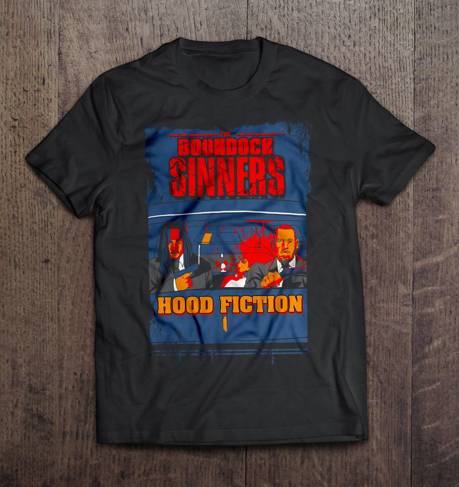 Image of Hood Fiction T- Shirt