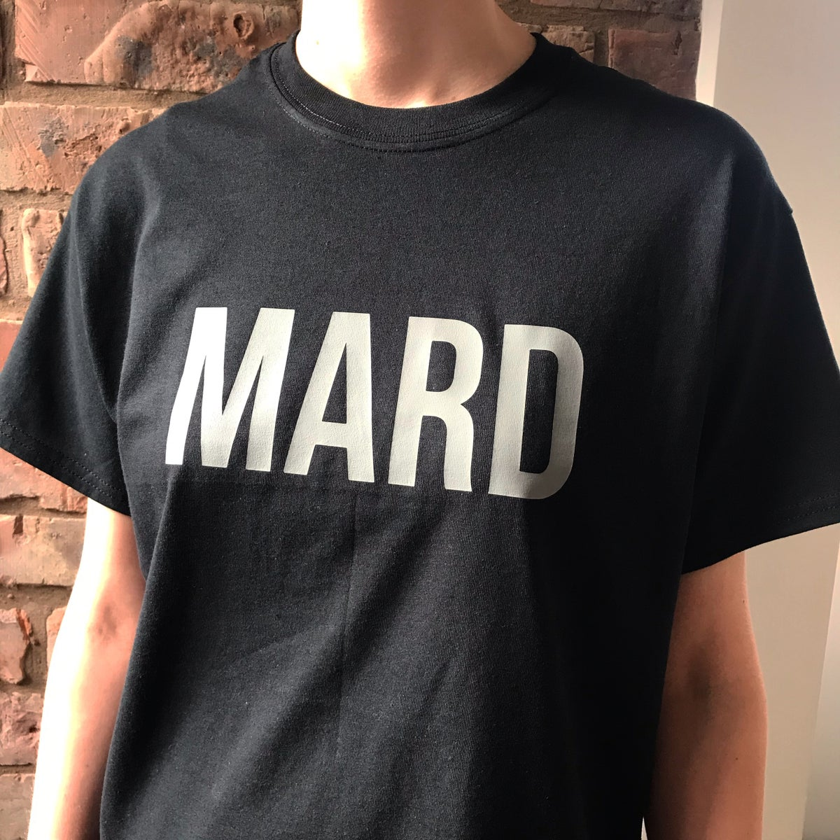 Image of MARD T-SHIRT IN BLACK + GREY