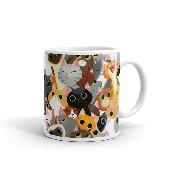 Image of Cat Crowd Mug