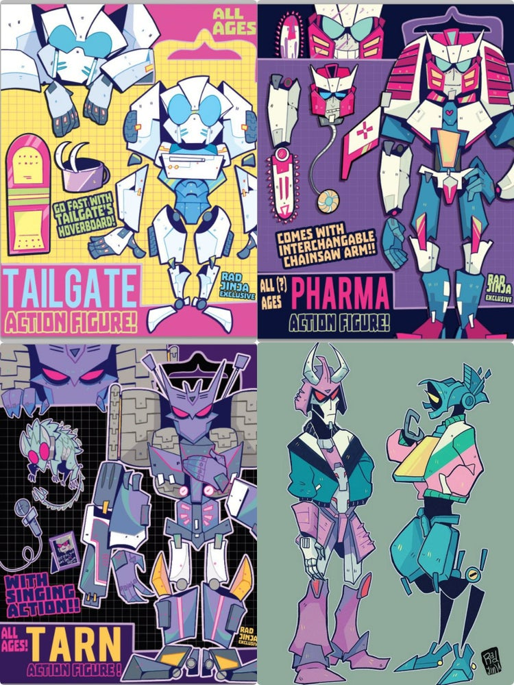 Image of TF PRINTS!