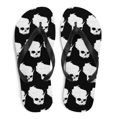 Image of Wiskullsin Flip Flops