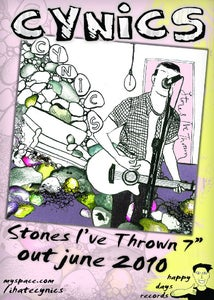 Image of Cynics - Stones I've Thrown 7'' (benefit for partners in health)