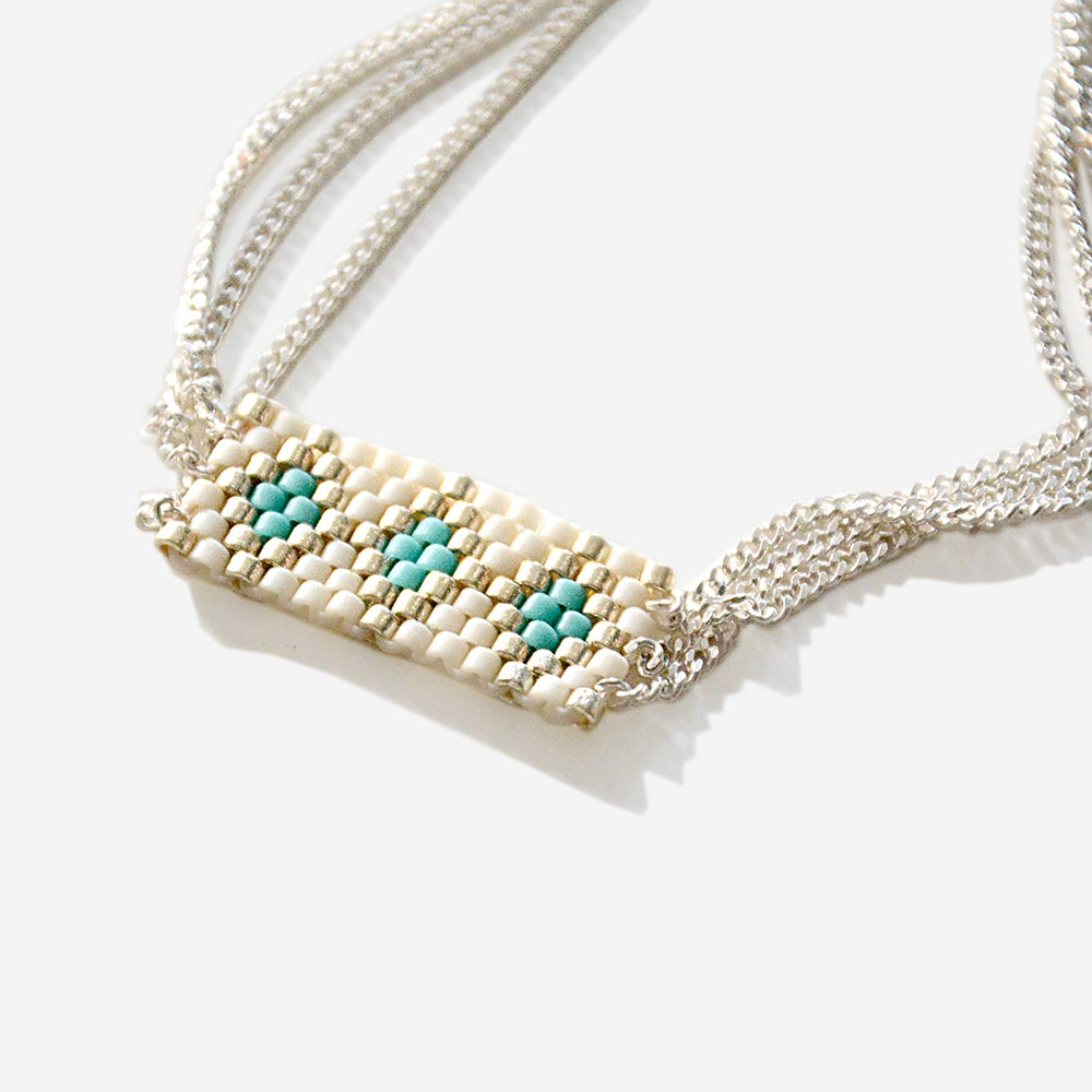 """Image of bracelet perles turquoise """"ANDROS"""""""