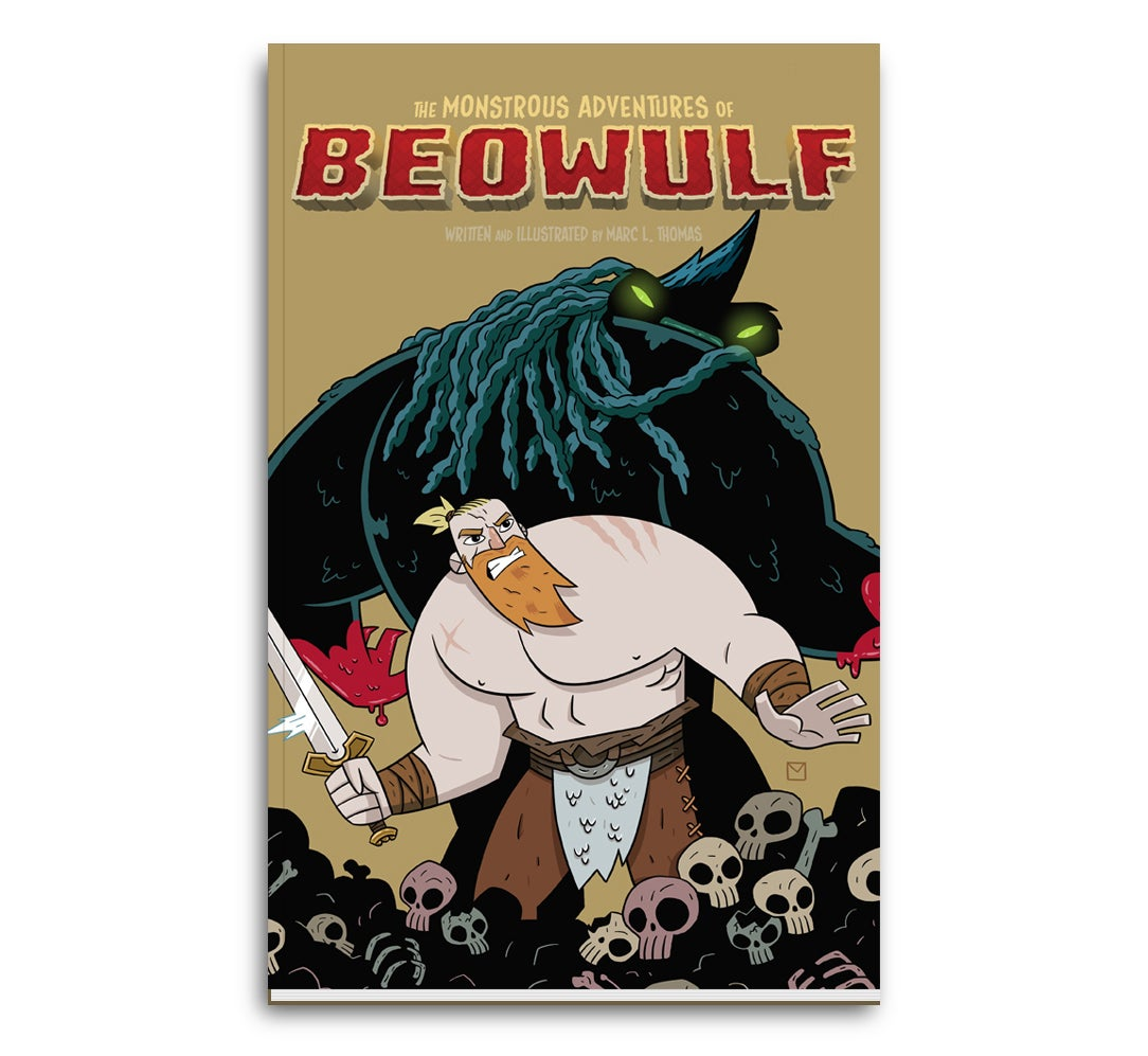 Image of The Monstrous Adventures of Beowulf Book 1 - Physical