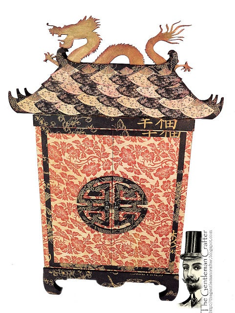 Image of The Secret Pagoda - Chipboard Kit