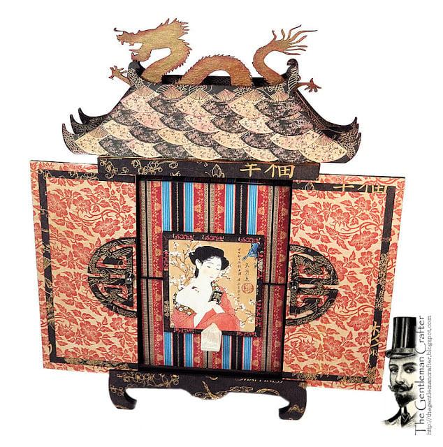 Image of The Secret Pagoda - Chipboard Kit