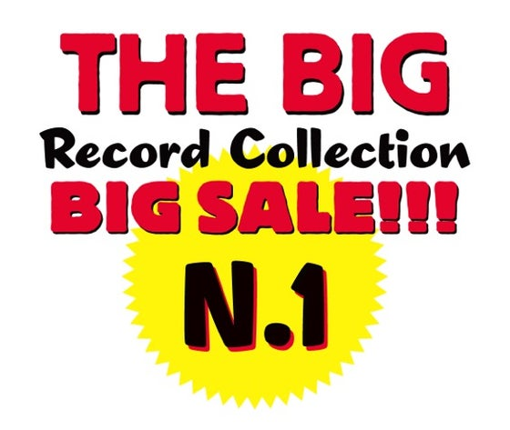 Image of THE BIG RECORD COLLECTION BIG SALE - COLLEZIONE N. 1 (121 titoli)